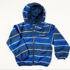 Columbia Windbreaker Zip Up Jacket 3T